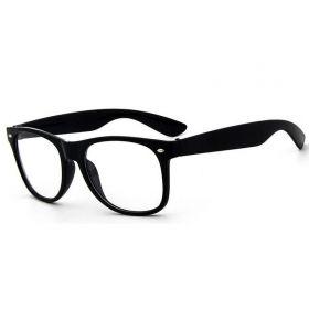 Sluneční brýle wayfarer retro černé číre
