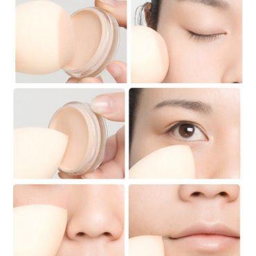 Shimia pěnová houbička na makeup ve tvaru slzy