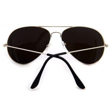 Sluneční brýle pilotky modré zrcadllové