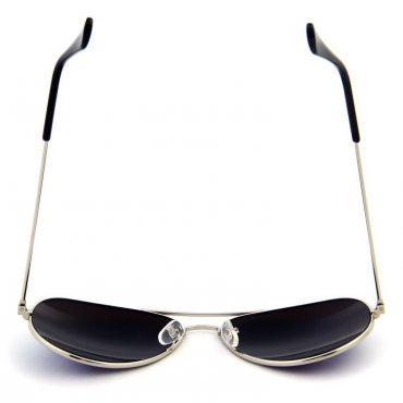Sluneční brýle pilotky zelené zrcadllové