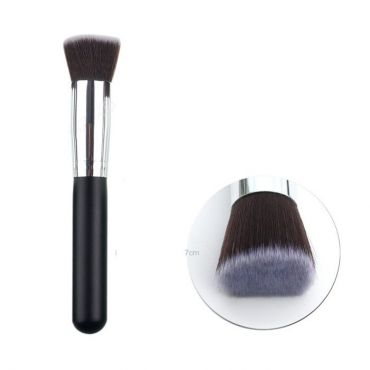 Flat plochý Kabuki kosmetický štětec