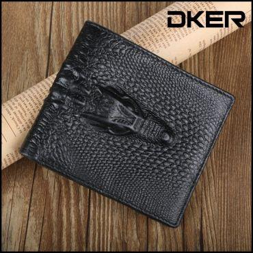 Dker pánská peněženka z imitace krokodýlí kůže