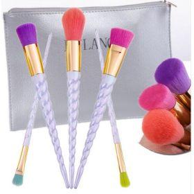 DE'LANCI spirálové kosmetické štětce mix