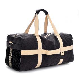 MJH plátěná cestovní taška 40l Černá