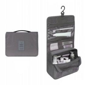 Toaletní taška Travel šedá
