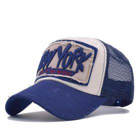 Climate® sportovní  kšiltovka New York modrá
