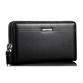 Leinasen elegantní pánská peněženka do ruky černá