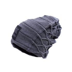 Pánská zimní čepice NC east.05 - šedá
