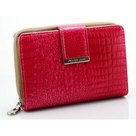Jennifer Jones dámská kožená peněženka růžová