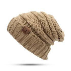 CC beanie pletená čepice Smurf Khaki