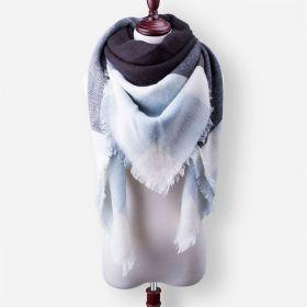 Blanket Dámský šátek modročerný 210 cm
