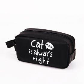 Cat is always pouzdro penál černé