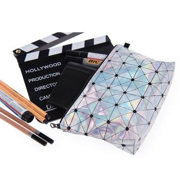 Who Cares Kosmetická taštička Holograf Cube