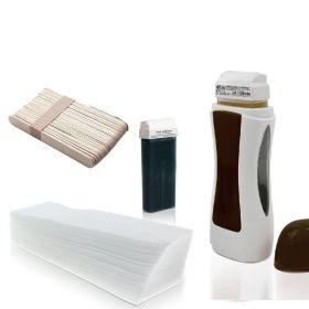 Single Sada na depilaci voskem s ohřívačem
