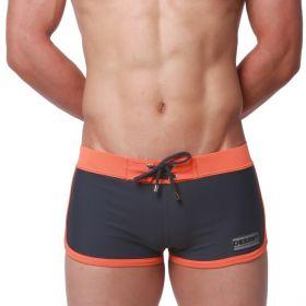DESMIIT pánské plavky 4Sport - černo oranžové