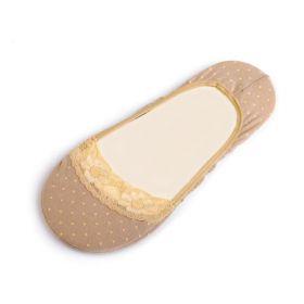 Puntíkové ponožky do balerín Tělové