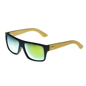 Wayfarer dřevěné sluneční brýle WPB1033G