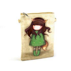 Dívčí kabelka přes rameno Holka v zelených šatech