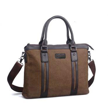 Pánská taška přes rameno Popular- hnědá