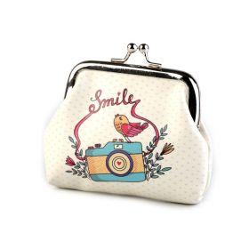 Dívčí peněženka na mince či klíče Smile