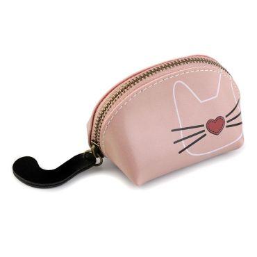 Malá peněženka Růžová kočka