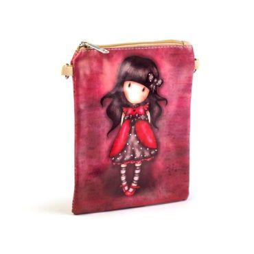 Dívčí kabelka přes rameno holka v bordó