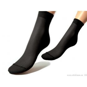 Evona Silonové ponožky 20 den 5 párů Černé