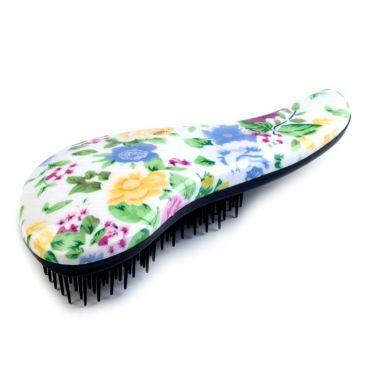 Comb Kartáč na vlasy Jarní květy
