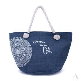 ArtOfPolo Plážová taška be Cool Modrá