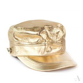 ArtOfPolo metalická kšiltovka Zlatá