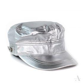 ArtOfPolo metalická kšiltovka Stříbrná