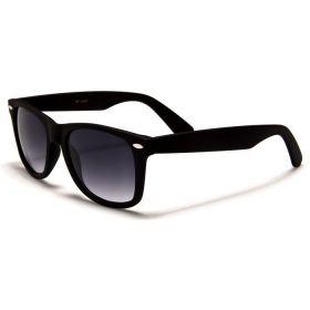 Dětské sluneční brýle Polarizační Retro Černé