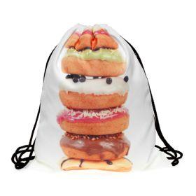 Plátěný vak s 3D potiskem Big Donut
