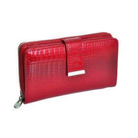 Jennifer Jones dámská Lakovaná peněženka červená 16cm