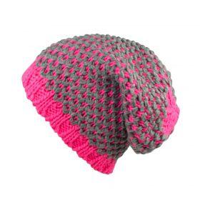ArtOfPolo dámská čepice růžová Fluoresca