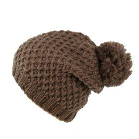 ArtOfPolo dámská čepice Paní zima Hnědá