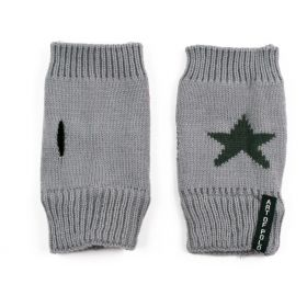 ArtOfPolo krátké rukavice bez prstů Star Šedé
