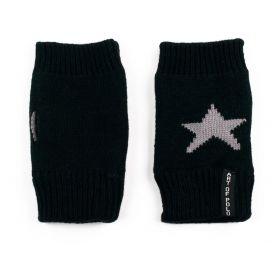 ArtOfPolo krátké rukavice bez prstů Star Černé