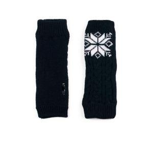 ArtOfPolo střední rukavice bez prstů Černé
