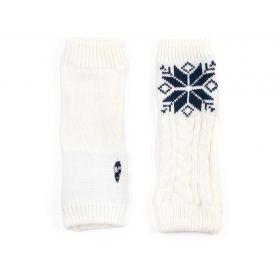 ArtOfPolo střední rukavice bez prstů Bílé