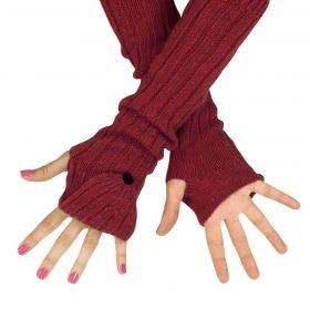 ArtOfPolo dlouhé rukavice bez prstů flip-flop Ruby