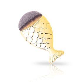 Štětec rybka MERMAID Zlatý