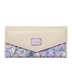 Dámská peněženka Life s květinovým vzorem Violet