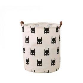Lněný koš na prádlo Batman 60L