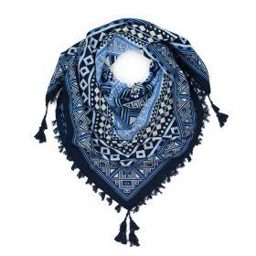 ArtOfPolo Aztécký šátek 115cm Modrý