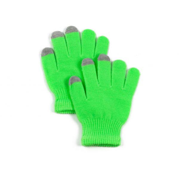 Rukavice na dotykový displej Zelené