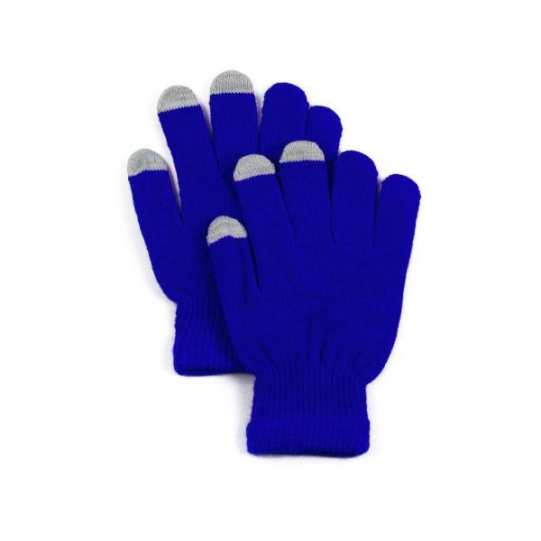 Rukavice na dotykový displej Modré