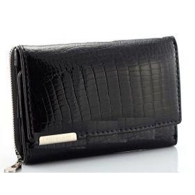 Jennifer Jones kožená peněženka Gilda Černá