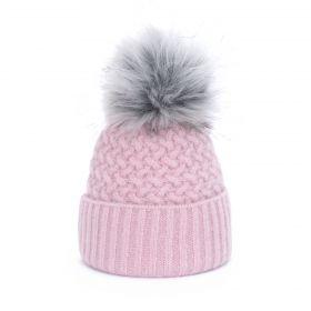 ArtOfPolo dámská zimní čepice Ema Růžová