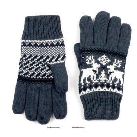 ArtOfPolo Unisex rukavice se soby Šedé